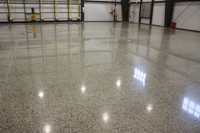 San Antonio Polished Concrete Custom Designs