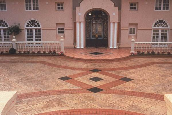 San Antonio Decorative Concrete Custom Designs